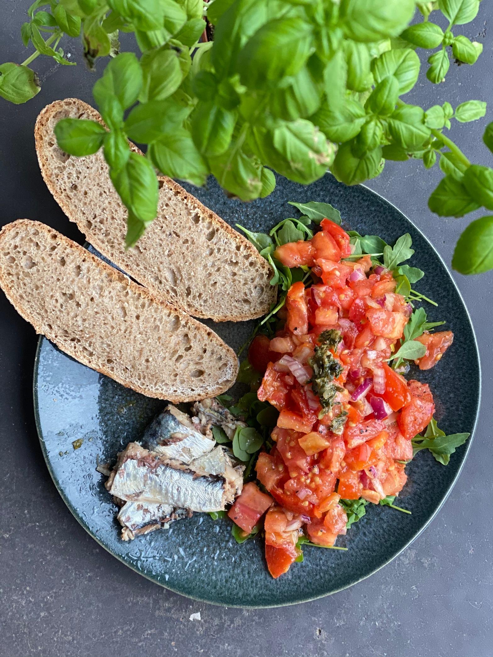 Lunch : végétaux, féculents et protéines